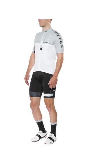 VOTEC EVO Race Jersey korte mouwen Heren grijs/wit